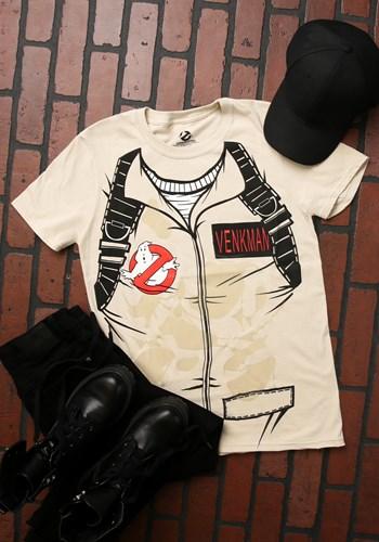 Adult Venkman Ghostbusters T-Shirt Costume