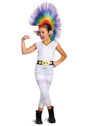 Click Here to buy Trolls Barb Rainbow Classic Costume with Wig from HalloweenCostumes, CDN Funds & Shipping