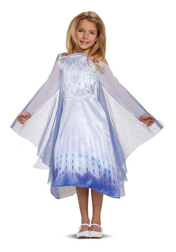 Classic Frozen Snow Queen Kids Costume