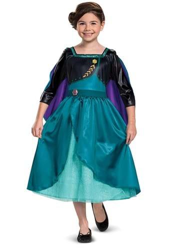 Classic Frozen Queen Anna Kids Costume