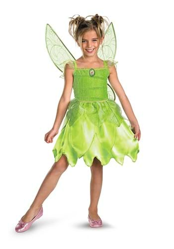 Click Here to buy Tinker Bell: Classic Tink and The Fairy Rescue Costume from HalloweenCostumes, CDN Funds & Shipping