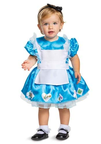 Click Here to buy Baby Alice in Wonderland Alice Costume from HalloweenCostumes, CDN Funds & Shipping