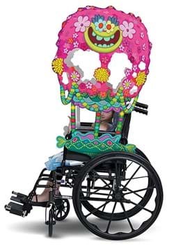Trolls Adaptive Wheelchair Cover Costume-upate
