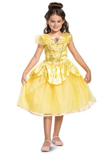 Click Here to buy Beauty and the Beast: Kids Belle Classic Costume from HalloweenCostumes, CDN Funds & Shipping