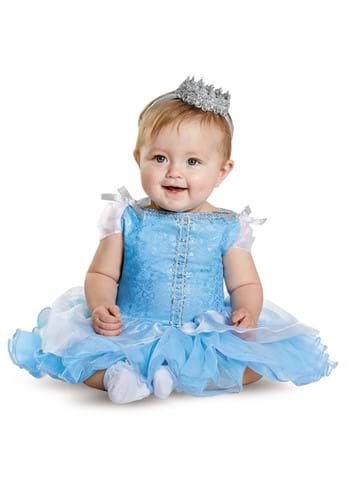 Click Here to buy Baby Cinderella Prestige Costume from HalloweenCostumes, CDN Funds & Shipping