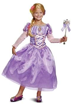 Tangled Rapunzel Kids Deluxe Costume