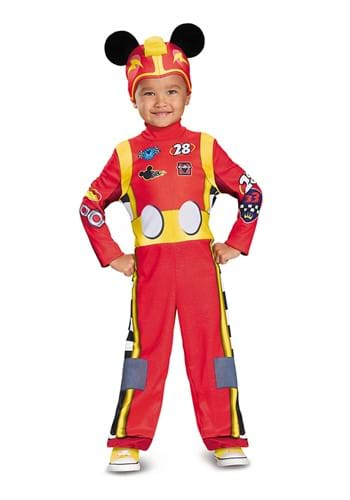 Classic Mickey Roadster Costume for Toddlers
