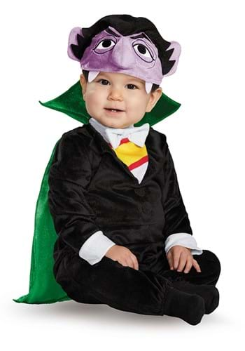Click Here to buy Sesame Street Deluxe Count Costume for Baby/Toddler from HalloweenCostumes, CDN Funds & Shipping
