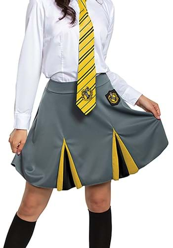 Click Here to buy Harry Potter Adult Hufflepuff Skirt from HalloweenCostumes, CDN Funds & Shipping
