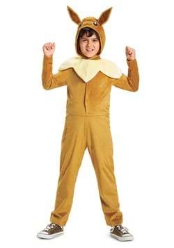 Pokemon Evee Hooded Jumpsuit Classic Costume
