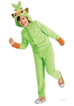Pokemon Grookey Hooded Jumpsuit Classic Costume