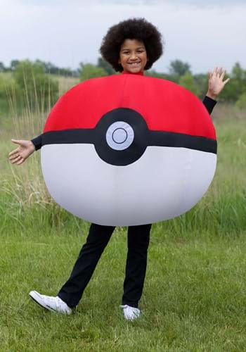 Kids Inflatable Poke Ball Costume