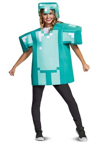 Minecraft Armor Classic Costume for Adults