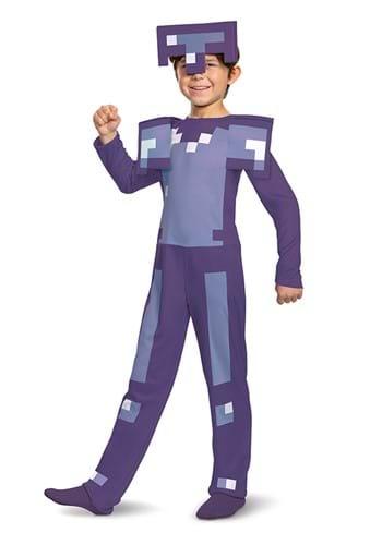 Minecraft Enchanted Diamond Armor Classic Costume for Kids