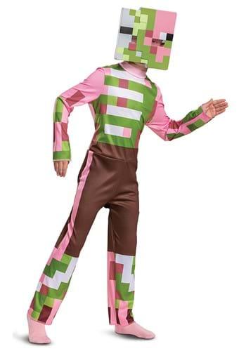 Minecraft Zombie Pigman Classic Costume for Kids