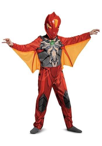 Bakugan Dragonoid Classic Kids Costume