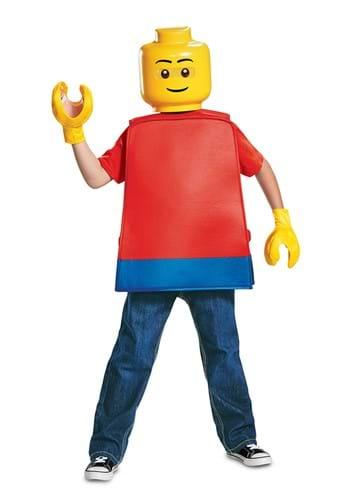 Kids Basic Lego Guy Costume