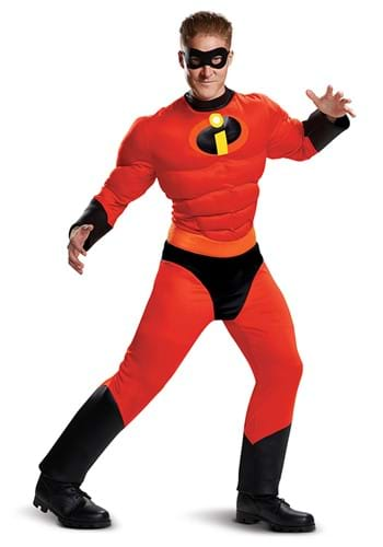 Mr. Incredible Adult Classic Costume