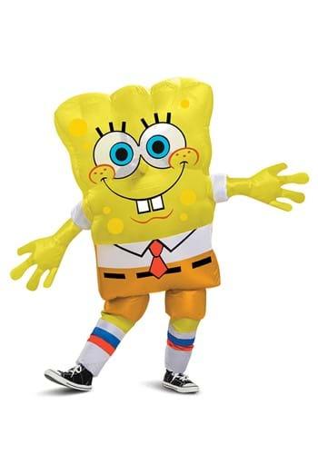 Inflatable Spongebob Squarepants Kids Costume