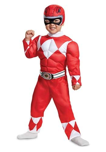 Power Rangers Red Ranger Muscle Toddler Costume