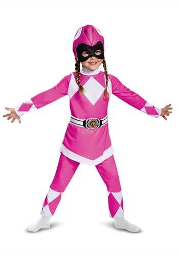 Power Rangers Pink Ranger Muscle Toddler Costume