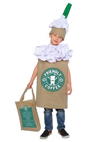 Kids Frappuccino Costume