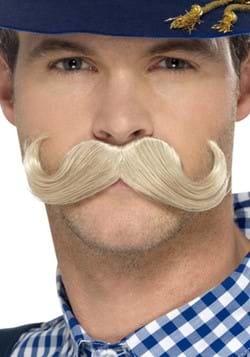 Blonde Bavarian Mustache
