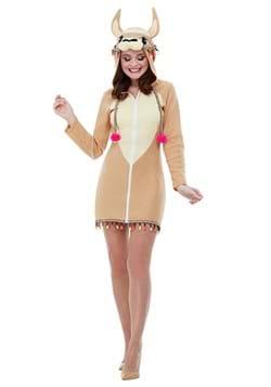 Brown Llama Costume