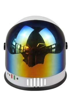 Kids White Multicolor Visor Astronaut Helmet