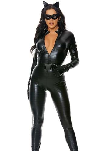 Plus Size Womens Fierce Feline Costume