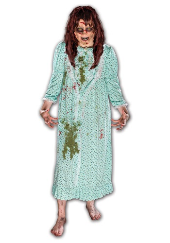 Click Here to buy The Exorcist Regan Costume w/ Wig from HalloweenCostumes, CDN Funds & Shipping