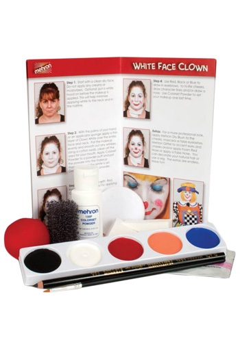 Clown Costume Makeup Kit