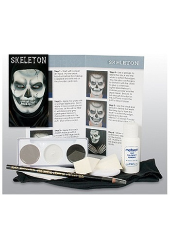 Skeleton Makeup Character Kit