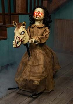 Animated Rocking Horse with Doll upd-1