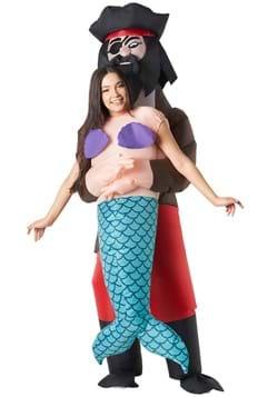 Pick Me Up Pirate Mermaid Inflatable Adult Costume