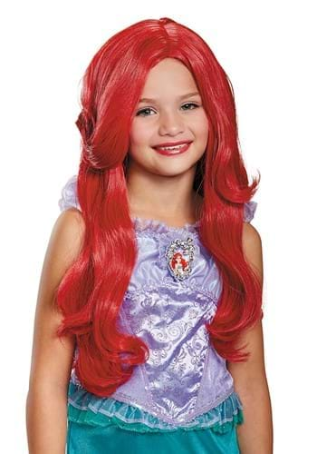 Click Here to buy Deluxe The Littler Mermaid Ariel Wig from HalloweenCostumes, CDN Funds & Shipping