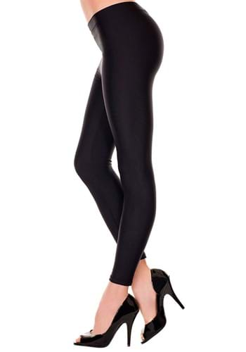 Click Here to buy Satin Black Womens Leggings from HalloweenCostumes, CDN Funds & Shipping