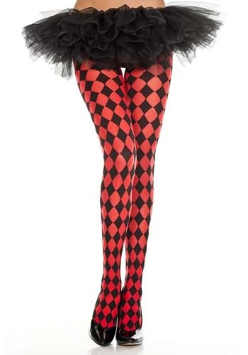 Red Diamond Jester Womens Tights