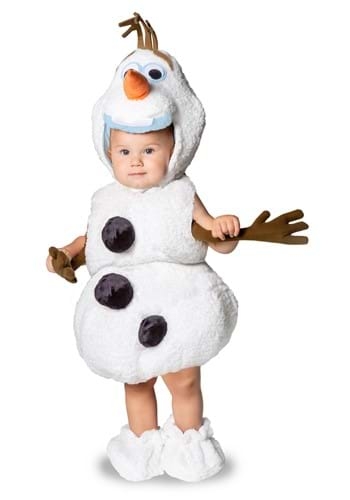 Click Here to buy Baby Frozen Olaf Premium Costume from HalloweenCostumes, CDN Funds & Shipping