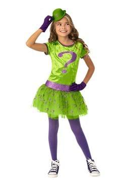 Super Villains Riddler Costume for Girls