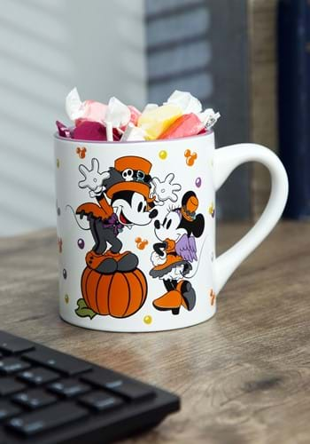 Disney Halloween Mickey Minnie Let's Party Mug-1
