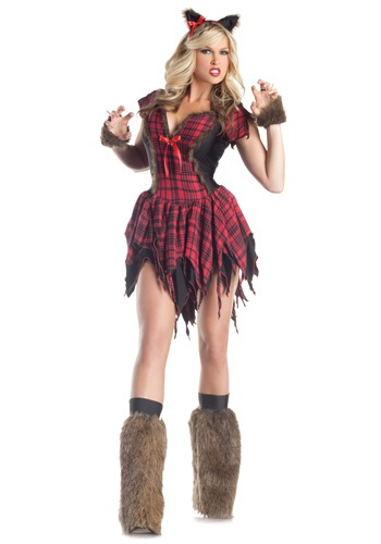 Click Here to buy Sexy Werewolf Costume from HalloweenCostumes, CDN Funds & Shipping