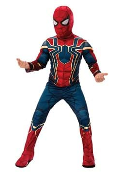 Kids Avengers Iron Spider Costume