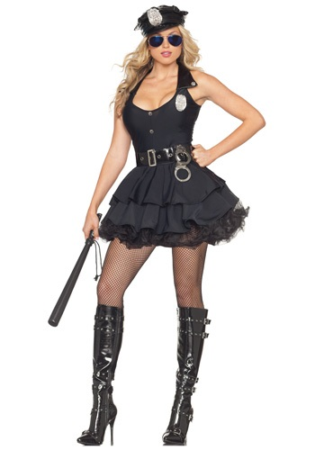 Click Here to buy Sexy Tutu Cop Costume from HalloweenCostumes, CDN Funds & Shipping