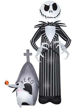 9ft Jack and Zero Nightmare Before Christmas Inflatable