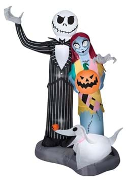 6 FT Airblown Nightmare Before Christmas Scene Large