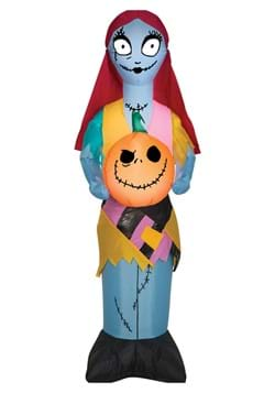 42 Inch Small Airblown Sally with Jack Pumpkin