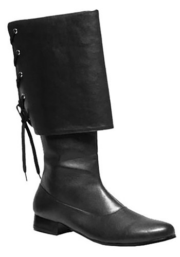 Buccaneer Black Boots