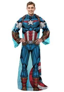 Captain America Silk Touch Comfy Throw