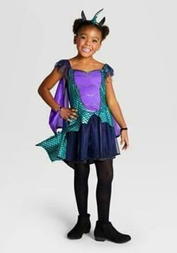 Kid's Dragon Halloween Costume Dress